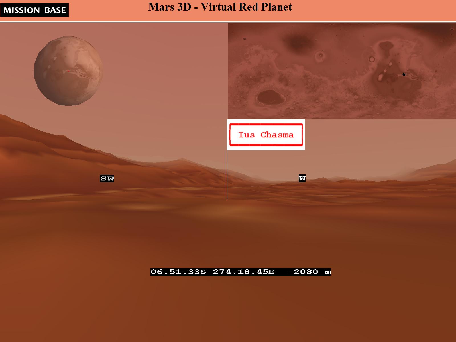 Mars 3D - Virtual Red Planet