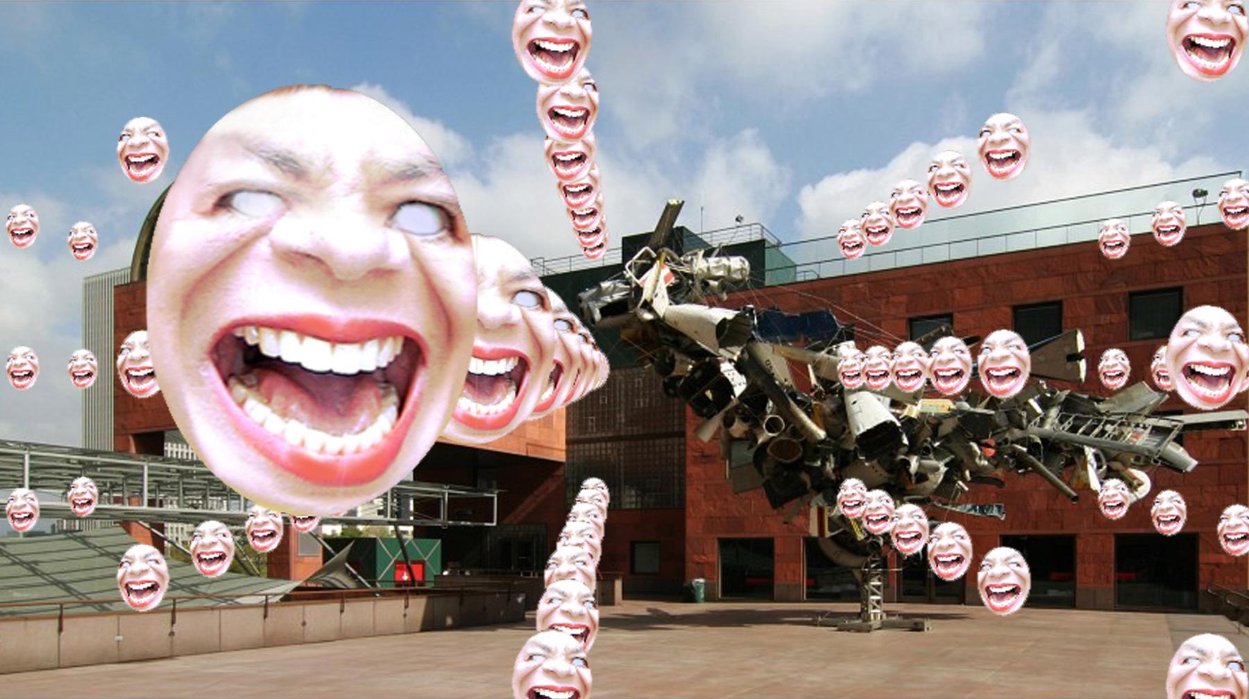 Art Critic Face Matrix Reloaded Augmented Reality Art